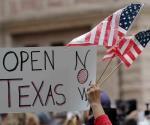 Protestan contra cierre y desempleo, pese a Covid-19, en Texas