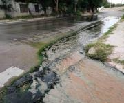 Afectan fugas de aguas continuación del Libramiento Luis Echeverría