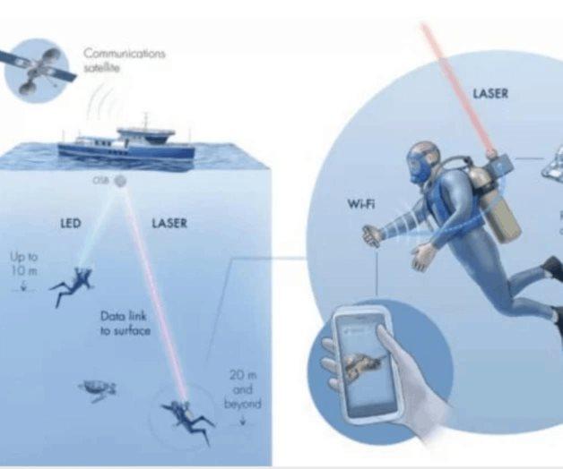 Desarrollan el primer Wi-Fi submarino
