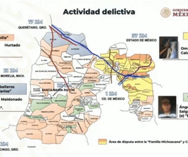 Estos son los seis grupos de la delincuencia organizada que operan en el Valle de México