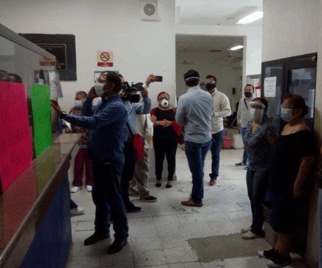 Protestan en el Civil de Ciudad Madero