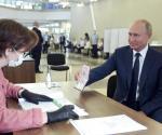 Moscú: 78% de los votantes apoya ampliar el mandato de Putin