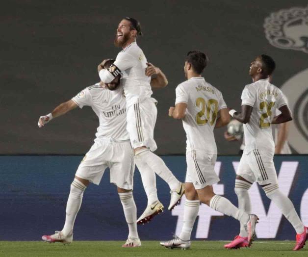 Se corona Real Madrid campeón de La Liga