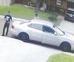 Tres tipos intentaron robar una camioneta