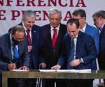 Reforma a pensiones es buen mensaje económico: AMLO