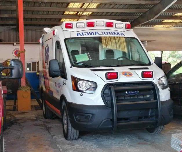 Recibe PC nueva ambulancia