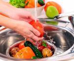 Frutas y verduras que se deben lavar y desinfectar