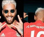 Maluma apoya a Bayern por pleito con Neymar