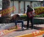 Arrestan testigos a un asaltante