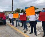 Suben de tono manifestaciones de trabajadores del sector Salud