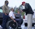 Tras daños de huracán Laura, Trump visita Luisiana y Texas