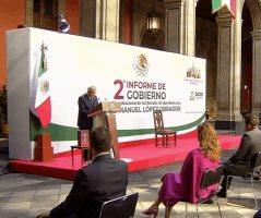 II Informe de Gobierno de Andrés Manuel López Obrador