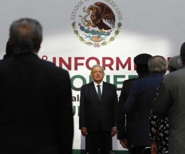 El presidente de la SCJN y el fiscal general, ausentes en mensaje de AMLO