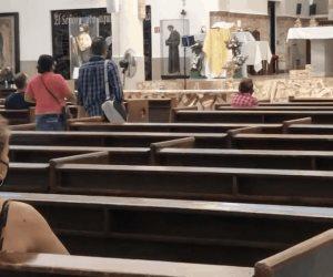 Regresa feligresía católica a los templos en Reynosa