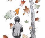 Las hojas muertas