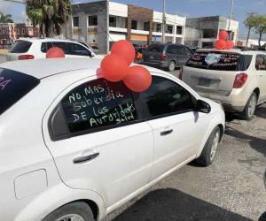 Arrecian protestas en Sector Salud Tamaulipas