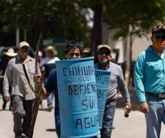 Increíbles imágenes de la protesta en La Boquilla durante la batalla del agua