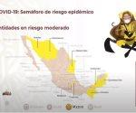 México, por primera vez sin ningún estado rojo en semáforo