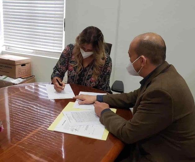 Firman escrituras para los espacios deportivos