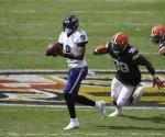 Jackson y Ravens apalean 38-6 a Browns