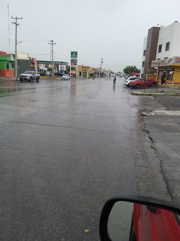 Trastorna tormenta la ciudad de Reynosa