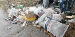 Plaza del Olmo es un basurero