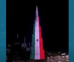 Dubai se ilumina con la bandera de México