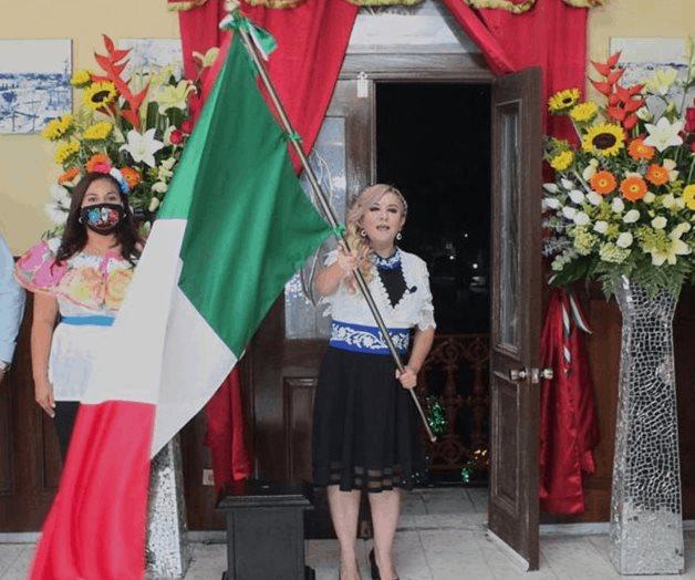 Conmemora Lety Peña el 210 aniversario de Independencia