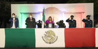 Encabeza Maki Ortiz ceremonia de Independencia
