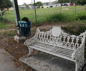 Convierten áreas verdes de El Olmo en un basurero
