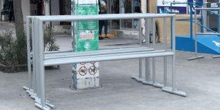 Retiran filtros que se habían colocado en la calle peatonal Hidalgo