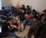 Descubren 12 personas en una casa de Zapata