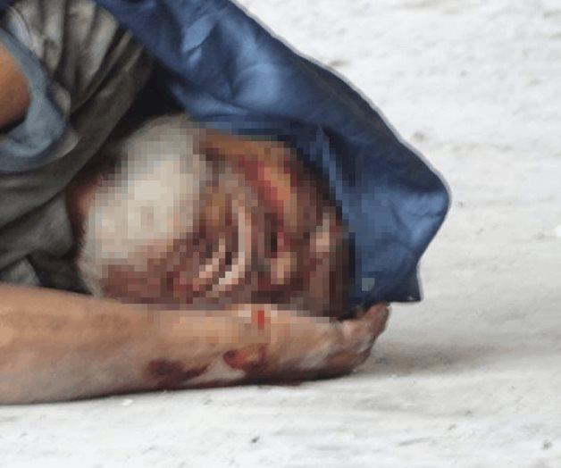 Encuentran un muerto en tianguis de 'El Riel'