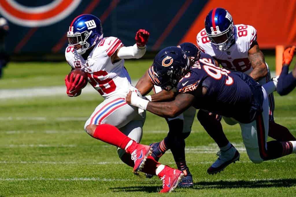 Bears 17-13 Giants
