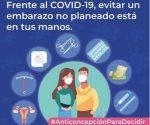 Importante tener acceso a método anticonceptivo
