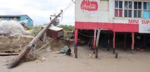 Provoca daños tormenta Beta en Matamoros