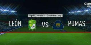 Resumen y Goles | León vs Pumas | Liga BBVA MX - Guardianes 2020 - Jornada 11
