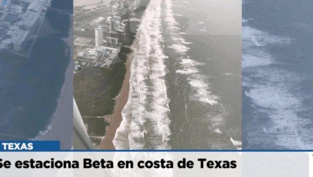 Se estaciona Beta en costa de Texas