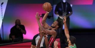 Gana el Heat 112-109 a Celtics y se pone a un juego de las Finales de NBA