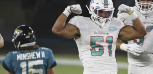 Delfines consiguen su primer triunfo del año; derrotan 31-13 a Jaguares de Jacksonville.