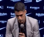 La emotiva despedida de Luis Suárez del Barcelona