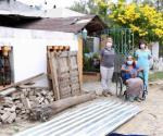 Mejoran condiciones de vida de familias que menos tienen