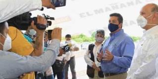Comprometen recursos para concluir obras de hospitales generales en Madero y Matamoros