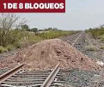 Paralizan un mes tren en Chihuahua