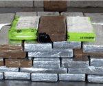 Descubren cocaína en envío comercial