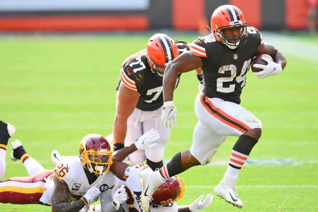Browns 34-20 Washington