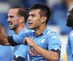 Chucky Lozano convierte un doblete en la victoria del Napoli, ante el Genoa