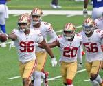 Los mermados 49ers dominan 36-9 a los Giants