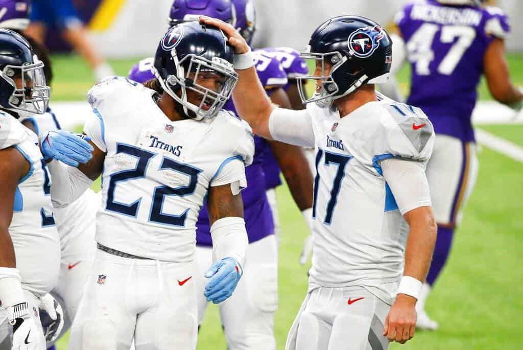 Vikings 30-31 Titans