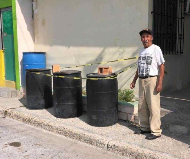 ¿Qué contienen los 3 tambos en La Cañada?